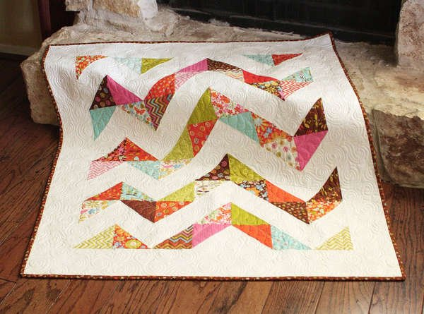 Bumpy Chevron Pattern