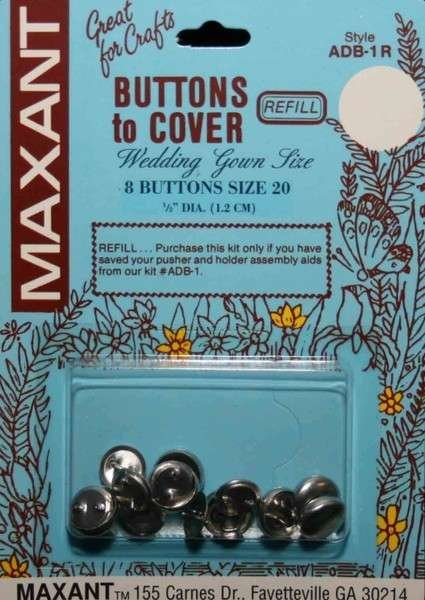 Button - to Cover REFILL 1/2