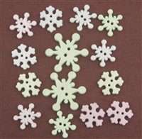 Button Galore Winter Snowstorm