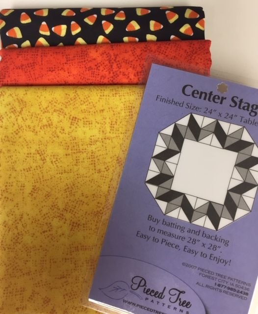Candy Corn Center Stage Table Topper Kit