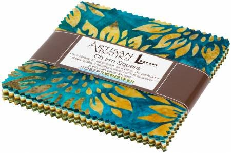 Charm Squares - Artisan Batiks - Summer Flowers - CHS-832-42