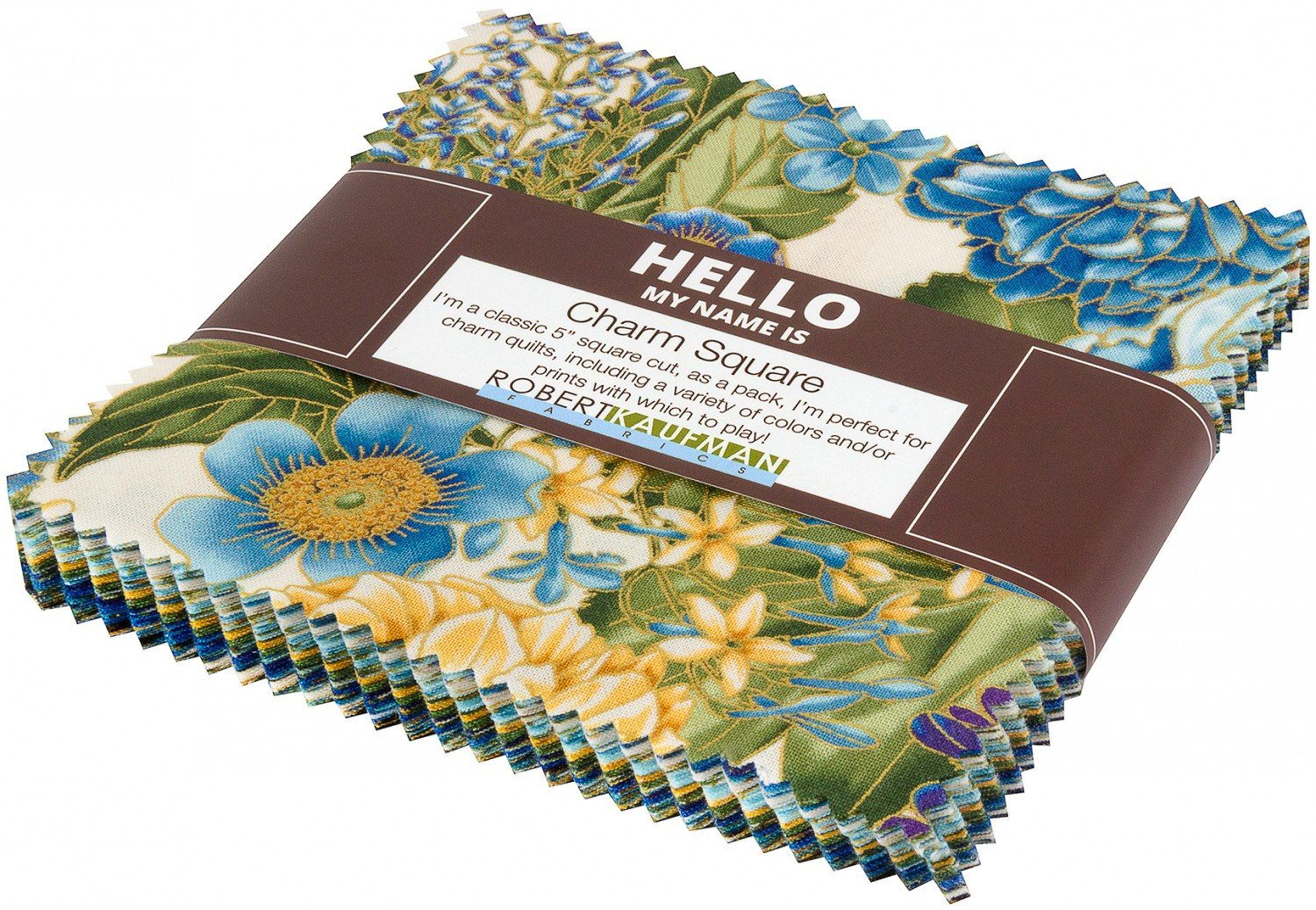 Charm Squares - Avery Hill - Blue colorstory