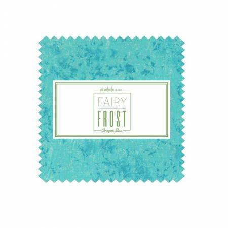 Charm Squares - Fairy Frost - Crayon Box