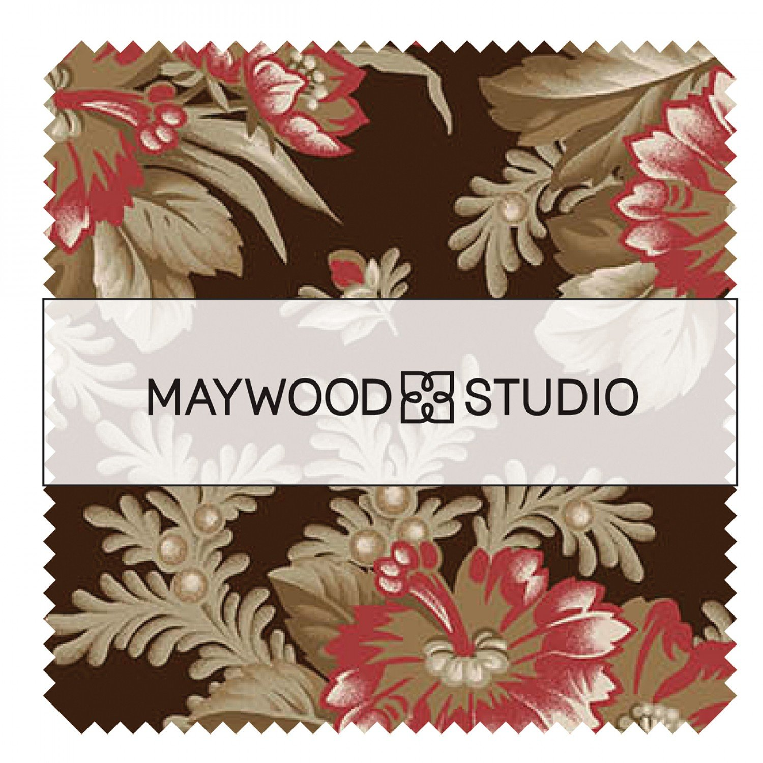 Charm Squares - Ruby by Maywood