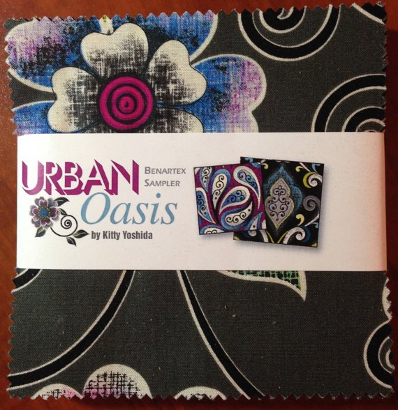 Charm Squares Urban Oasis - 42 pcs