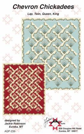 Chevron Chickadees Quilt Pattern