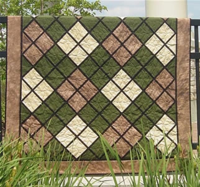 Classic Argyle Quilt Pattern