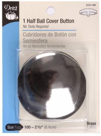 Button - To Cover - 2 1/2 Tuffet Size