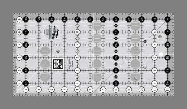 Creative Grid  6.5 inch X 12.5 inch Rectangle