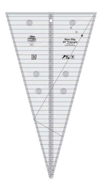 Creative Grids 30 Degree Triangle Ruler