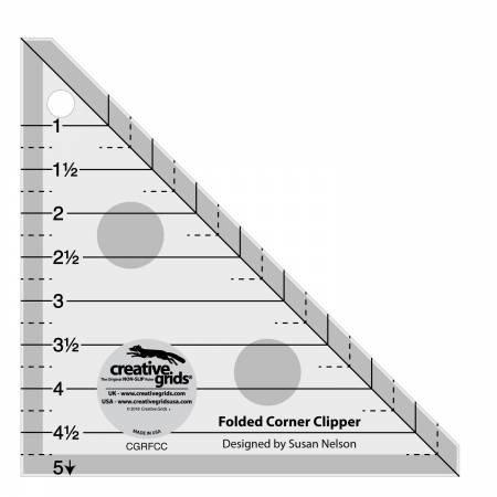 Creative Grids Folded Corner Clipper Ruler
