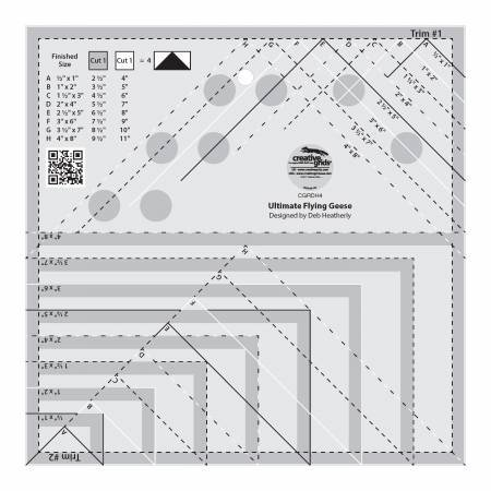 Creative Grids - Ultimate Flying Geese Ruler