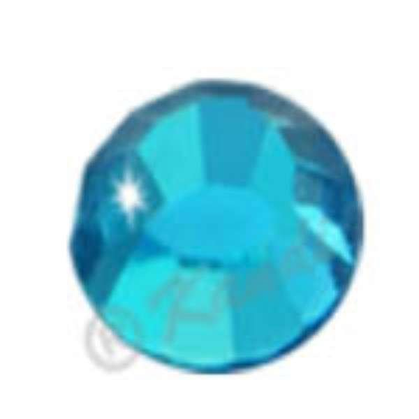 Crystalina Hot Fix - 3mm - Light Aquamarine