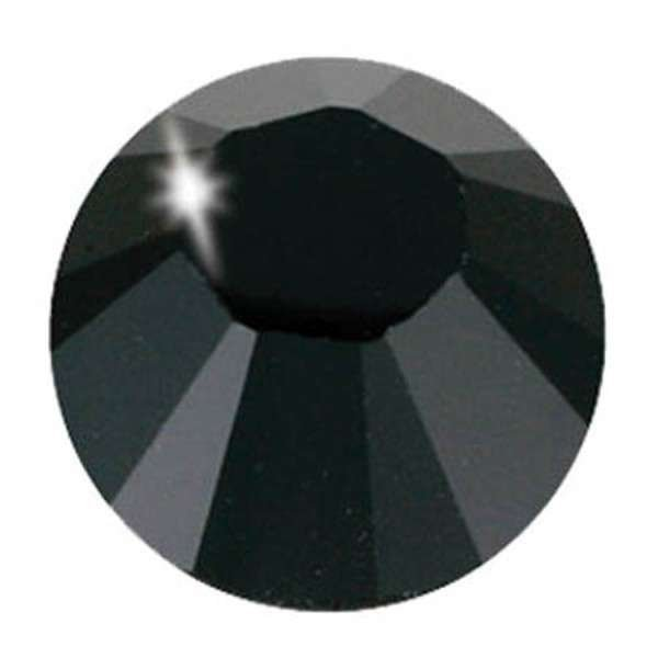 Alora/Kandi Crystals Hot Fix - 3mm - Jet Black