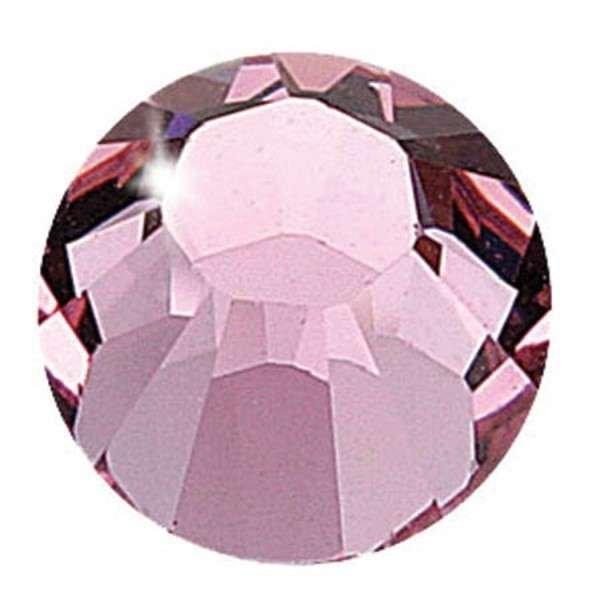 Crystalina Hot Fix - 3mm - Light Rose