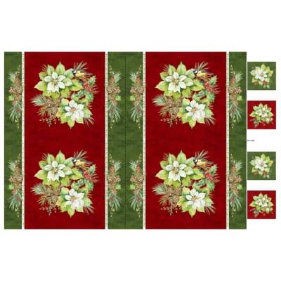 Deck the Halls Fabric Panel - DP22888-24