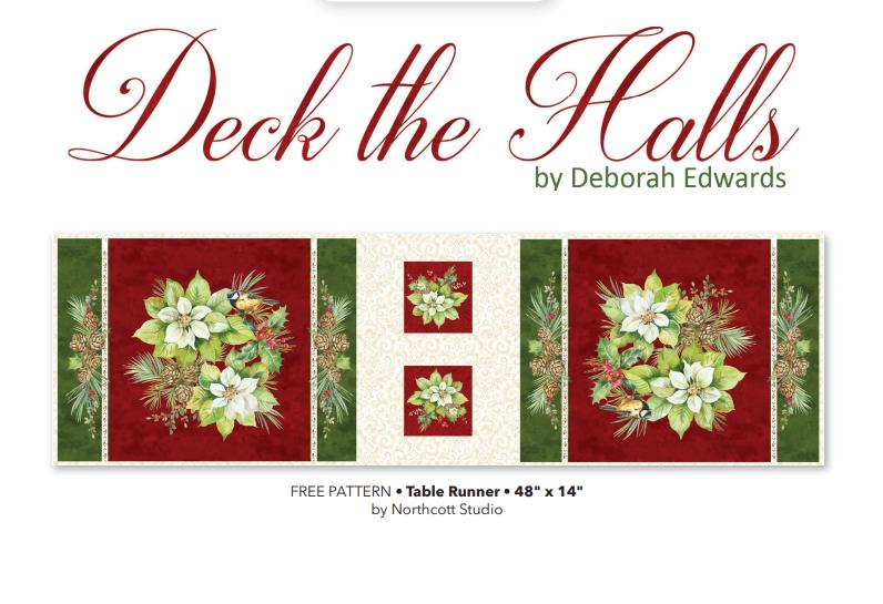 Deck the Halls Table Runner Kit