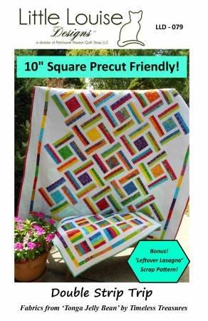 Double Strip Trip Quilt Pattern