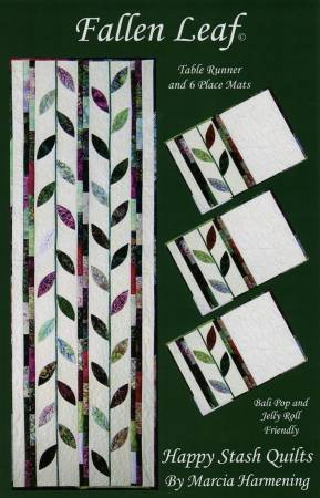 Fallen Leaf Runner & Place Mats Pattern