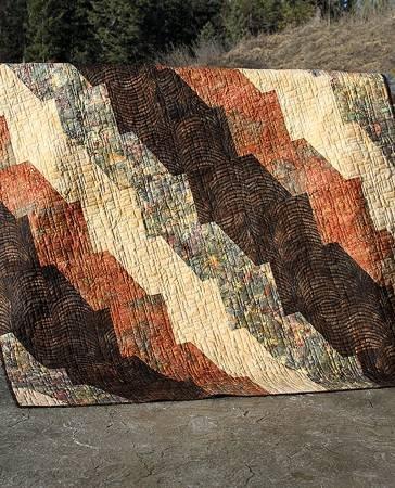 Faultline Quilt Pattern