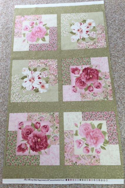 Floral Harmony Panel -  1007-731