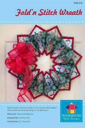 Fold N Stitch Wreath Pattern