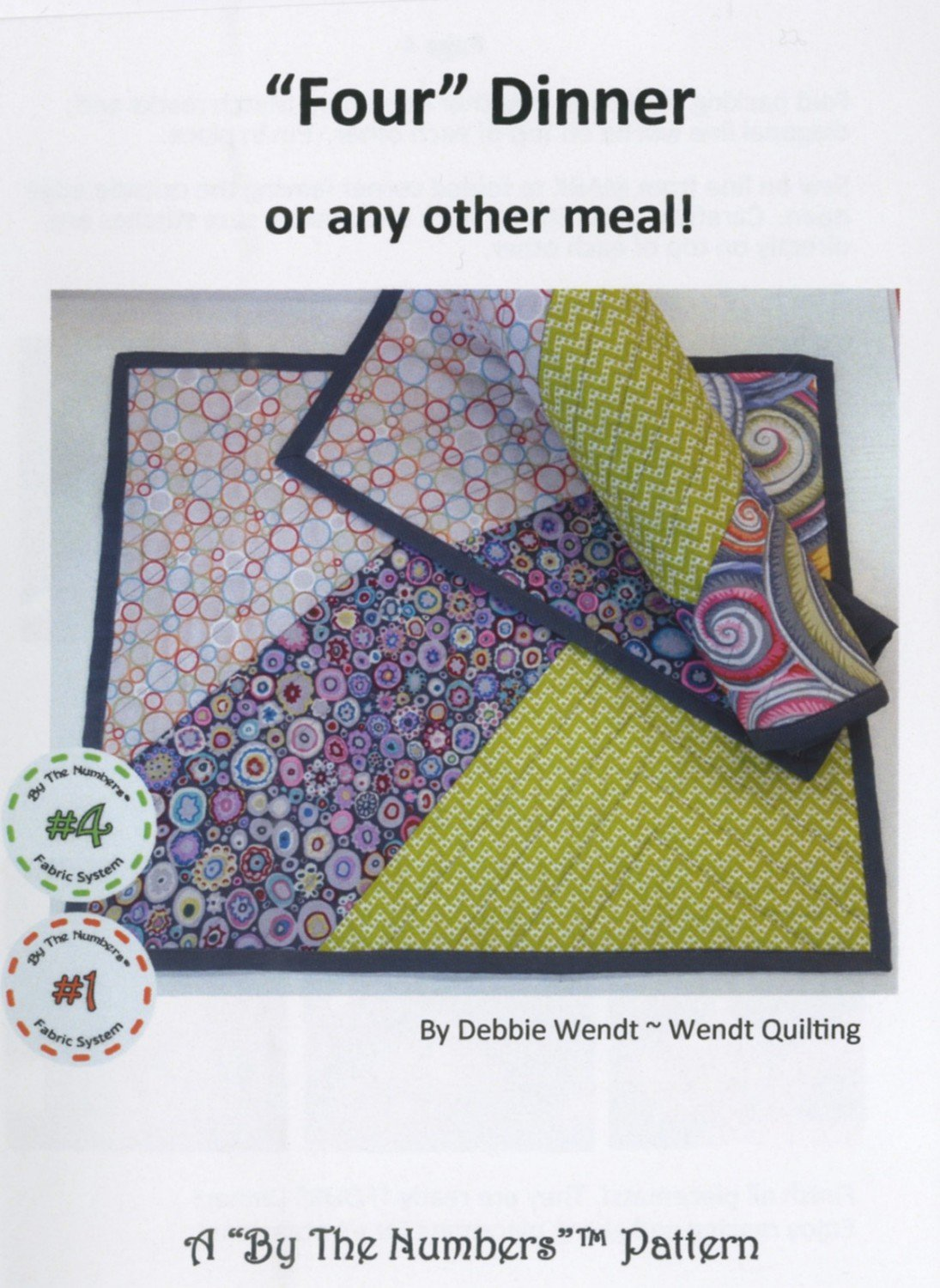 Four Dinner Place Mat Kit