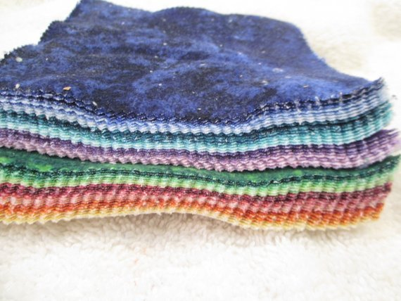 Charm Square - Gradations Brights FLANNEL - 42pcs