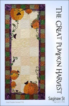 The Great Pumpkin Harvest Runner Pattern