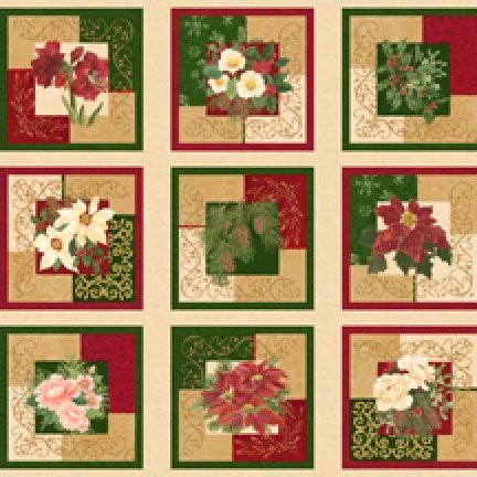 Holiday Finery Panel - 1086-237