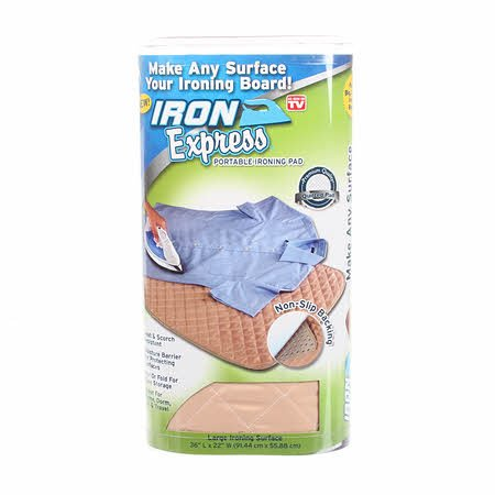 Iron Express Portable Ironing Pad