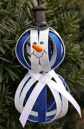 Let It Snow Man!  Ornament Kit