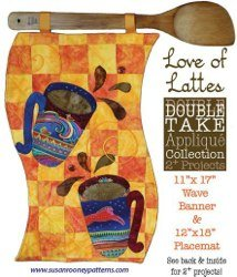 Love of Lattes Banner/Placemat Pattern