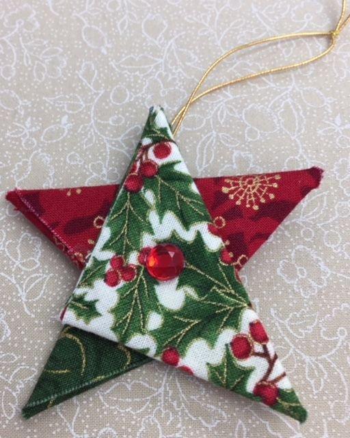 Mini Folded Star Ornament Kit