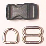 Pet Collar Hardware 3/4 size