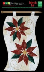 Poinsettia Pair Banner/Table Topper Pattern