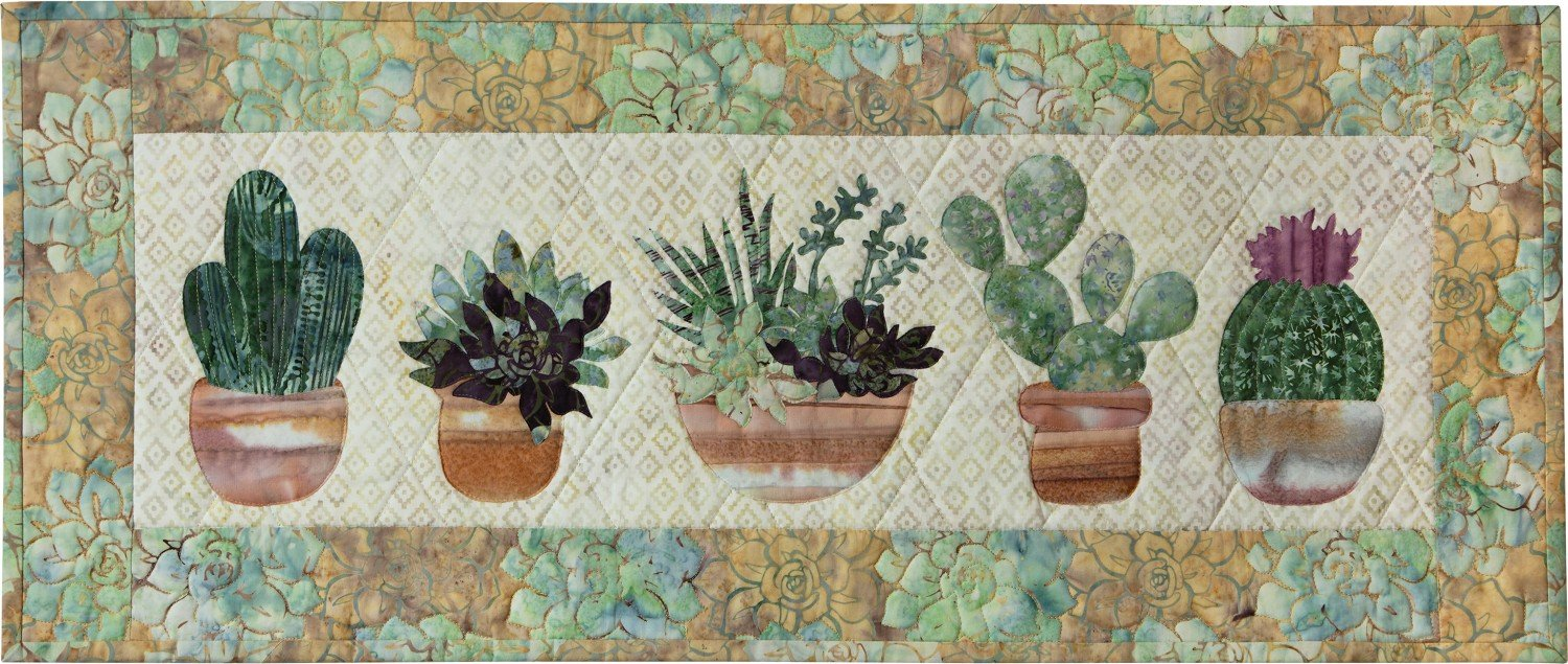 Prickly Pots Runner/Wall Hanging Kit