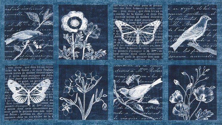 Botanical Beauty Panel from Robert Kaufman - AWP-15972-62