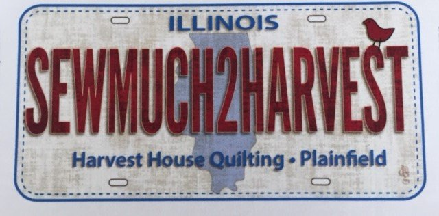 Row by Row - License Fabric - 2016 Sewmuch2harvest