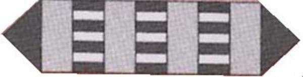 Sassy Strips Runner Pattern