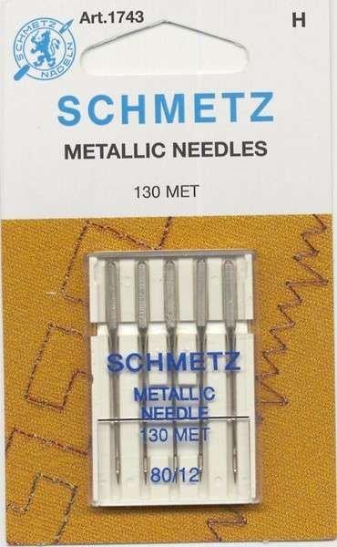 Needles Schmetz Metalica 80/12 - 5pk