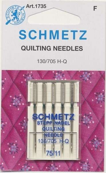 Needles Schmetz Microtech/Sharps 70/10 - 5 pk