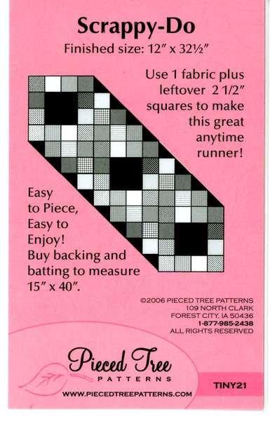 Scrappy Do Runner Pattern