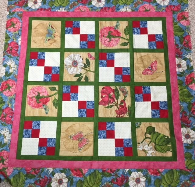 Side Stepping Wall/Baby Quilt