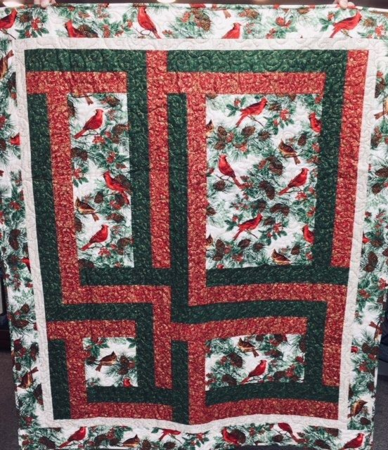 Sidelines Small Lap Quilt Kit