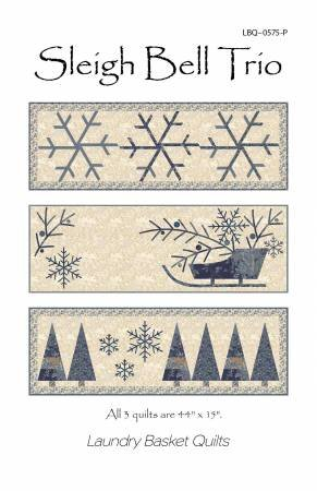 Sleigh Bell Trio - Runner/Wall Quilts Pattern