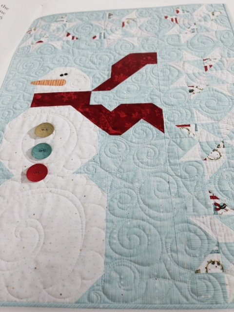 Snowy Day Quilt Kit