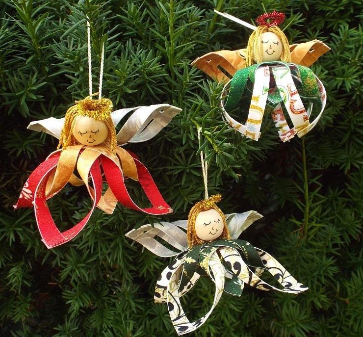 Sweet Angel Girl Ornament Kit