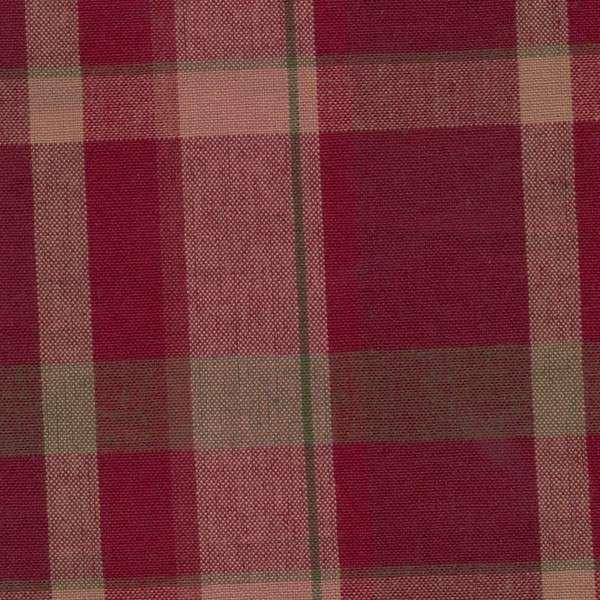 Tea Towel  - Christmas Red Plaid