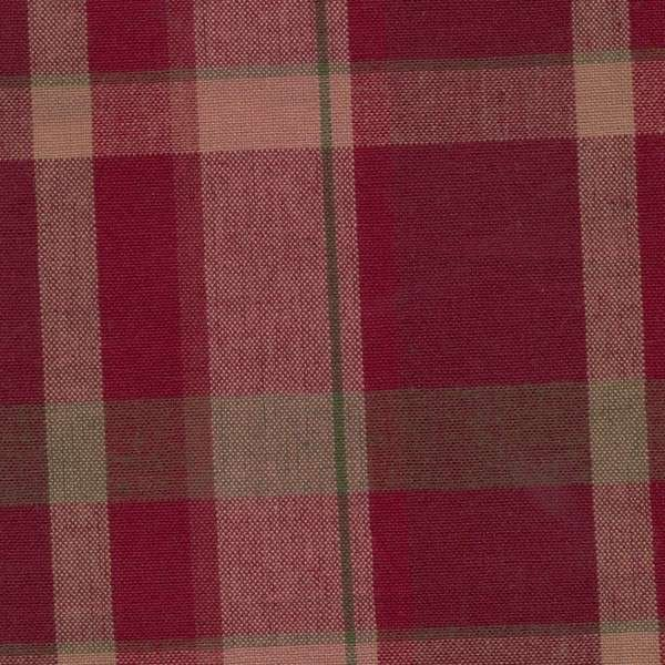 Tea Towel  - Christmas Red Plaid